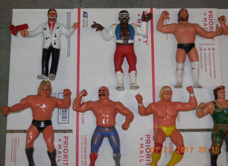 Image 21 of WWF LJN HUGE collection of 40 different figures Vintage 80's