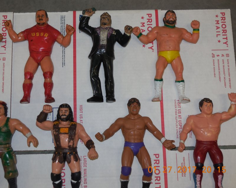 Image 22 of WWF LJN HUGE collection of 40 different figures Vintage 80's