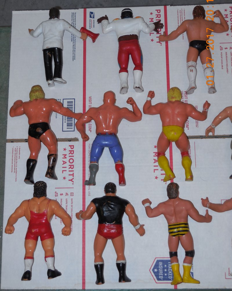 Image 23 of WWF LJN HUGE collection of 40 different figures Vintage 80's