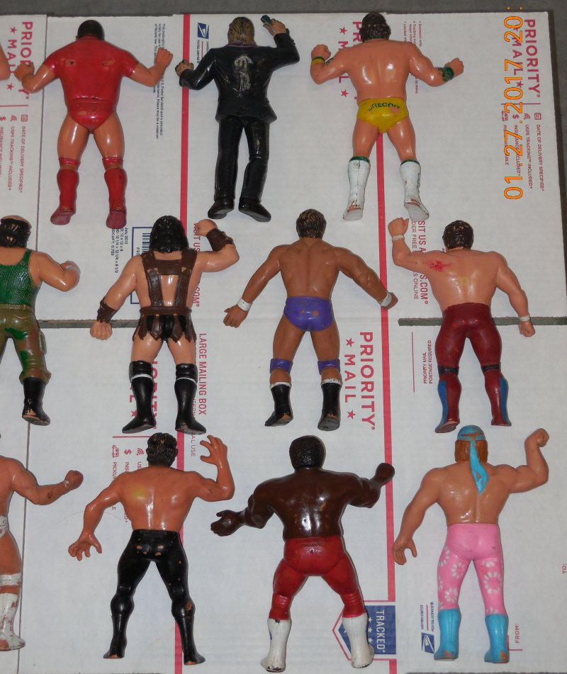 Image 24 of WWF LJN HUGE collection of 40 different figures Vintage 80's