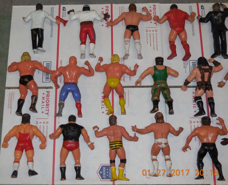 Image 25 of WWF LJN HUGE collection of 40 different figures Vintage 80's