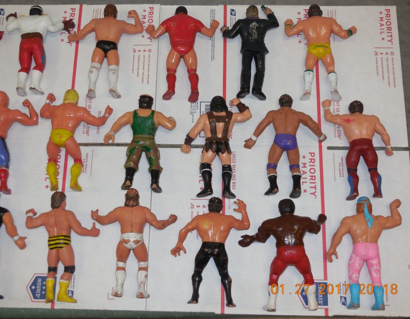 Image 26 of WWF LJN HUGE collection of 40 different figures Vintage 80's