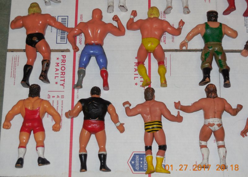 Image 27 of WWF LJN HUGE collection of 40 different figures Vintage 80's