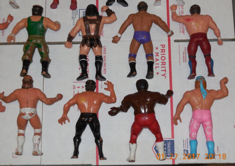 Image 28 of WWF LJN HUGE collection of 40 different figures Vintage 80's