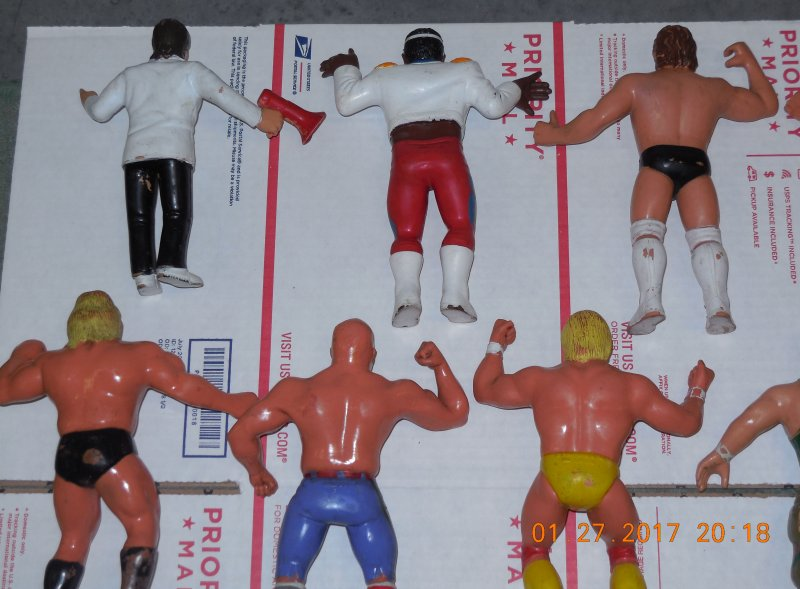 Image 29 of WWF LJN HUGE collection of 40 different figures Vintage 80's