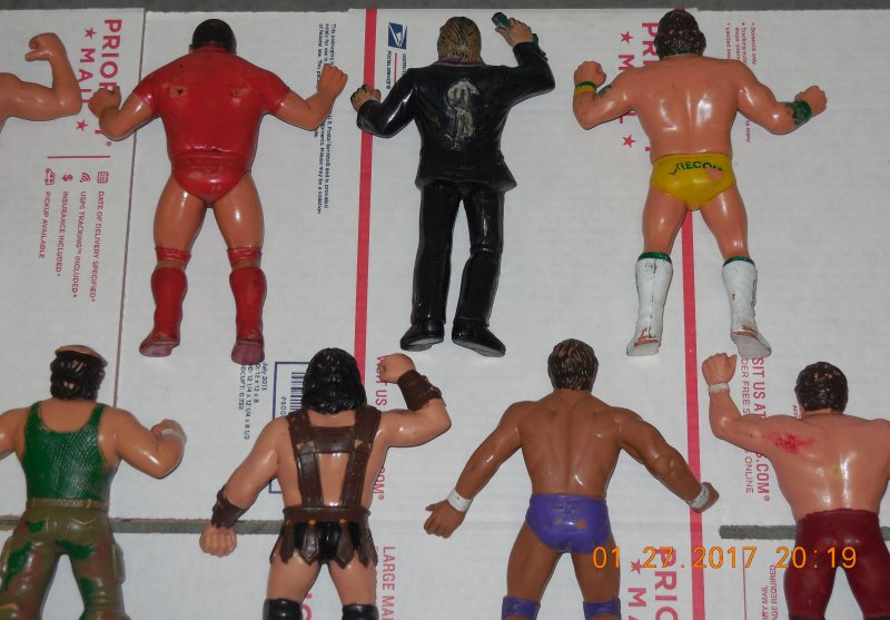 Image 30 of WWF LJN HUGE collection of 40 different figures Vintage 80's