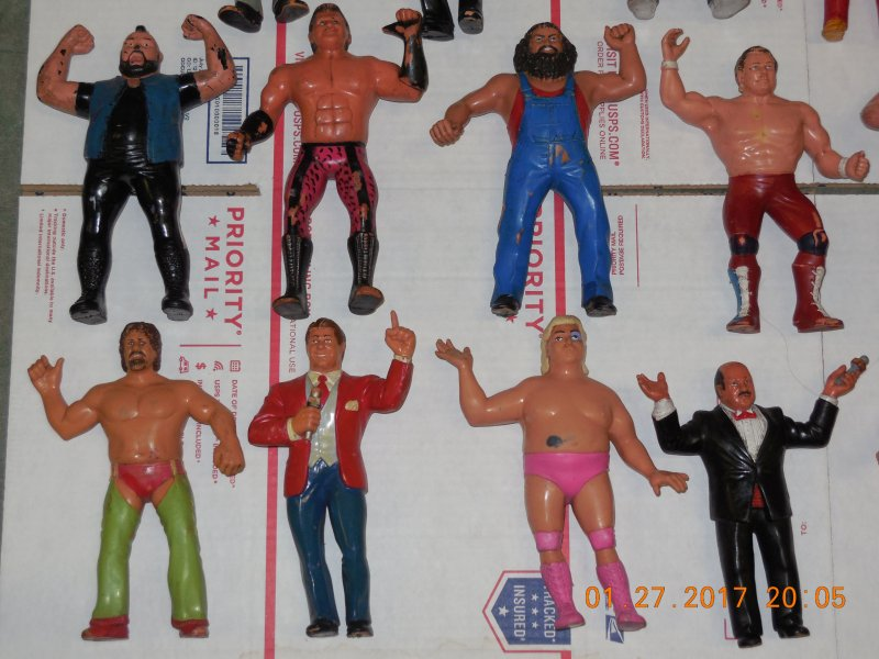 Image 3 of WWF LJN HUGE collection of 40 different figures Vintage 80's