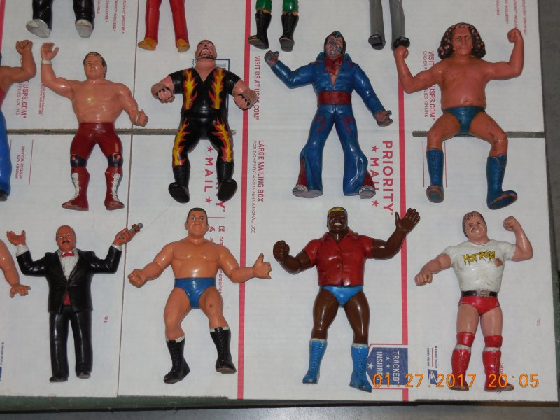 Image 4 of WWF LJN HUGE collection of 40 different figures Vintage 80's