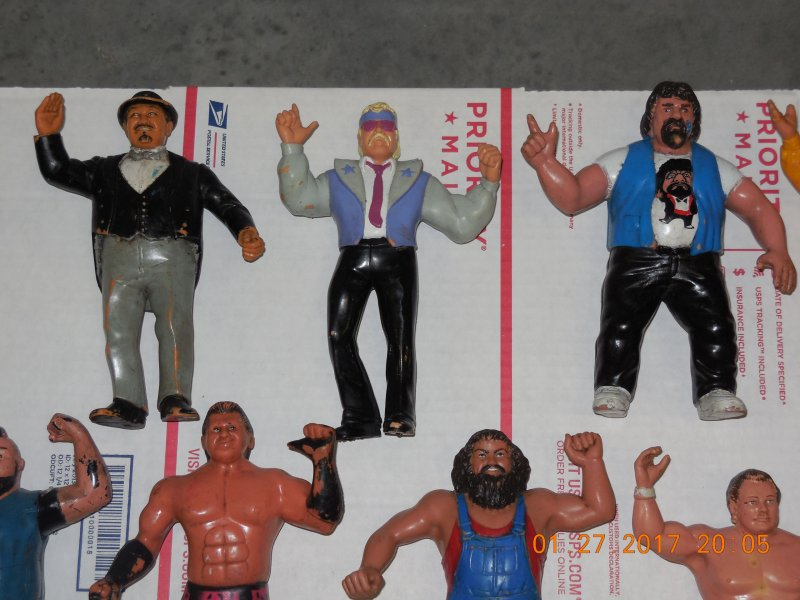 Image 5 of WWF LJN HUGE collection of 40 different figures Vintage 80's