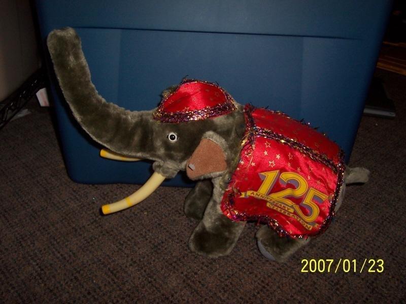 Image 0 of 125th Ringling Bros. & Barnum & Bailey Circus Plush Elephant