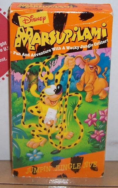 Image 0 of Disney Marsupilami Jumpin Jungle Jive VHS Video Tape