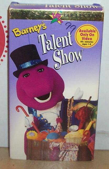 Image 0 of Barneys Talent Show VHS Video Tape