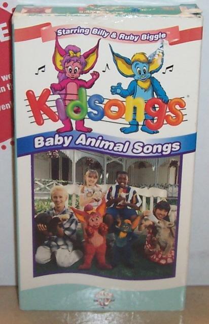KidSongs Baby Animal Songs VHS Video Tape