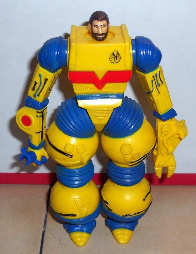 80s Toys Action Figures : Hasbro inhumanoids liquidator action figure very rare