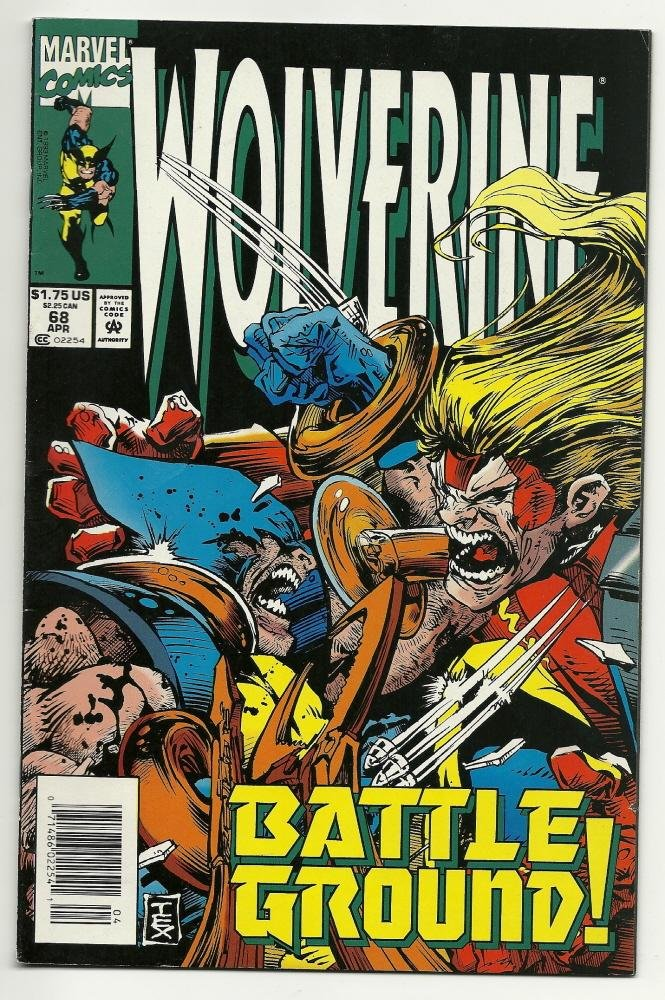 Image 0 of Marvel Comics Wolverine #68 Apr 1993