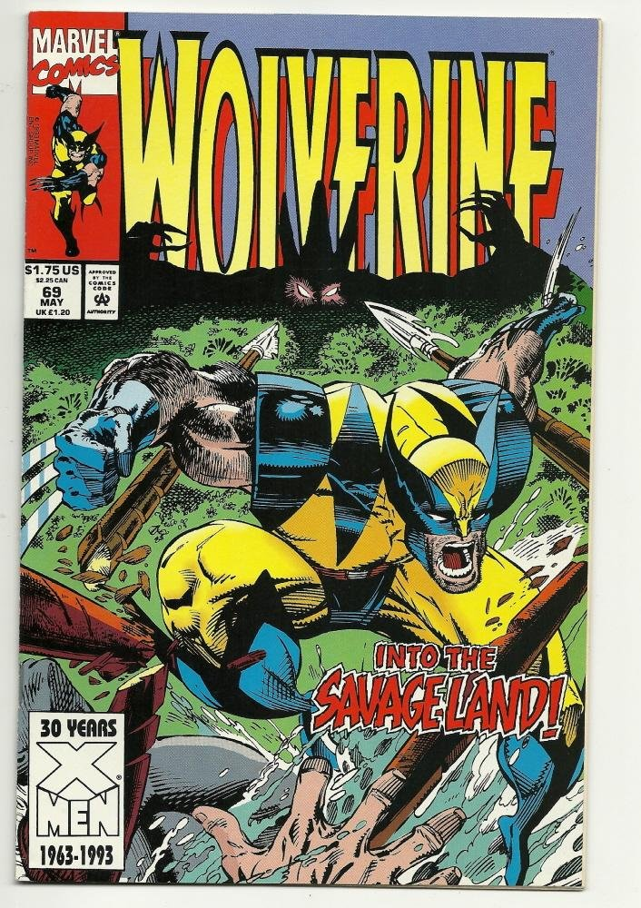 Image 0 of Marvel Comics Wolverine #69 May 1993