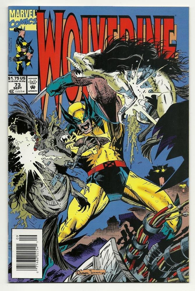 Image 0 of Marvel Comics Wolverine #73 Sept 1993