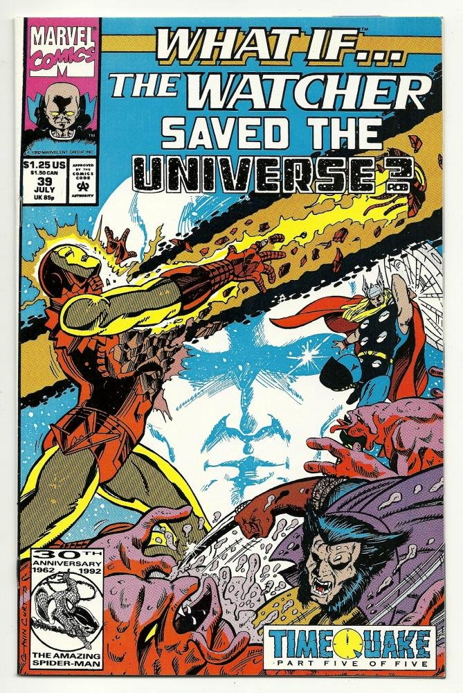 Image 0 of Marvel Comics What If #39 July 1992