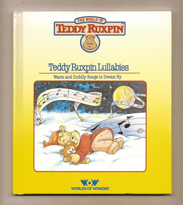 Image 0 of Teddy Ruxpin Lullabies Book WOW