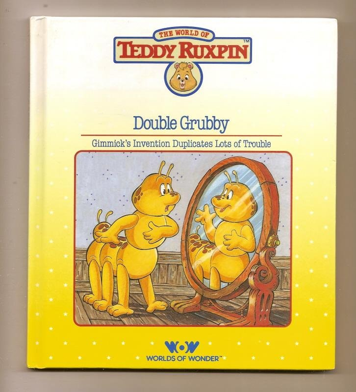 Image 0 of Teddy Ruxpin Double Grubby Book WOW