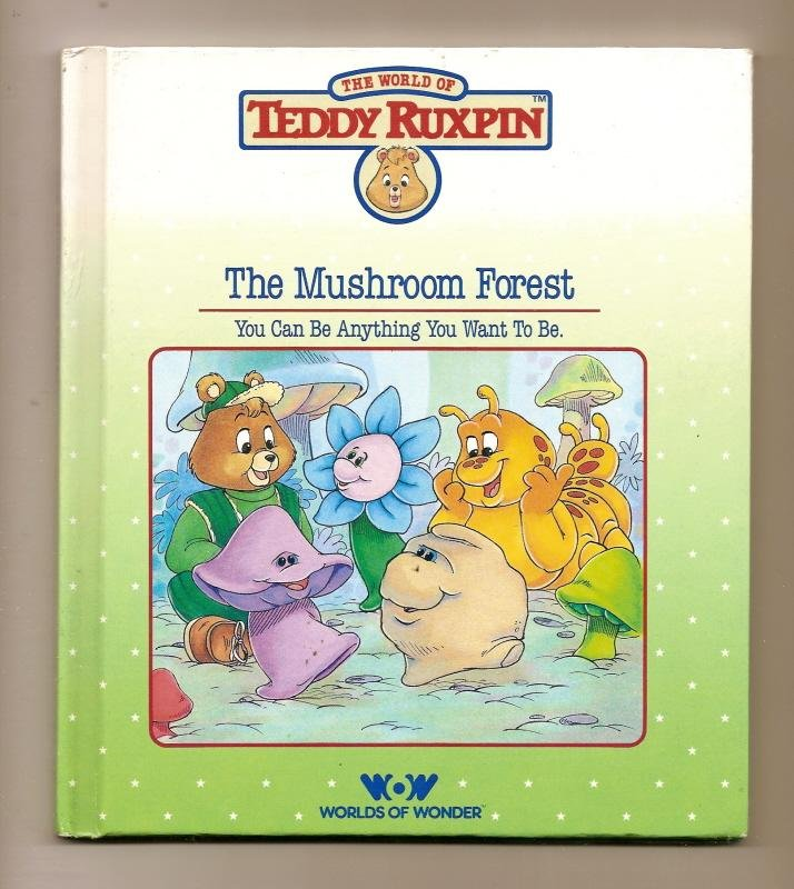 Image 0 of Teddy Ruxpin The Mushroom Forest Book WOW