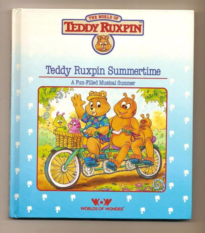 Image 0 of Teddy Ruxpin Summertime Book WOW