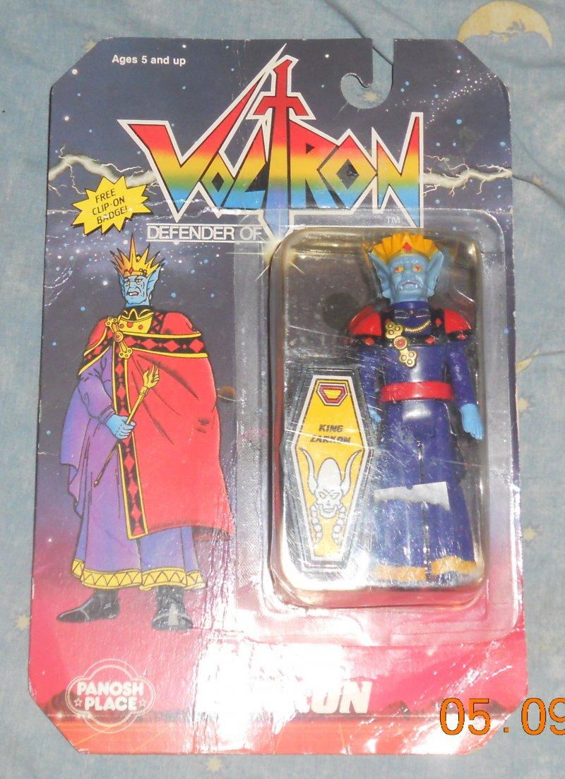 Voltron vintage toy 1984 panosh place Crâne TANK COMMANDER new in box free ship