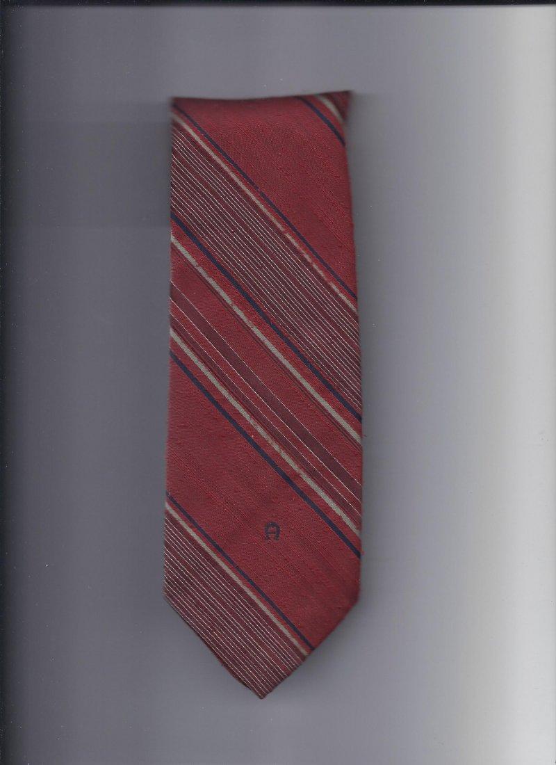Image 0 of Etianne Aigner 100% silk Tie 58