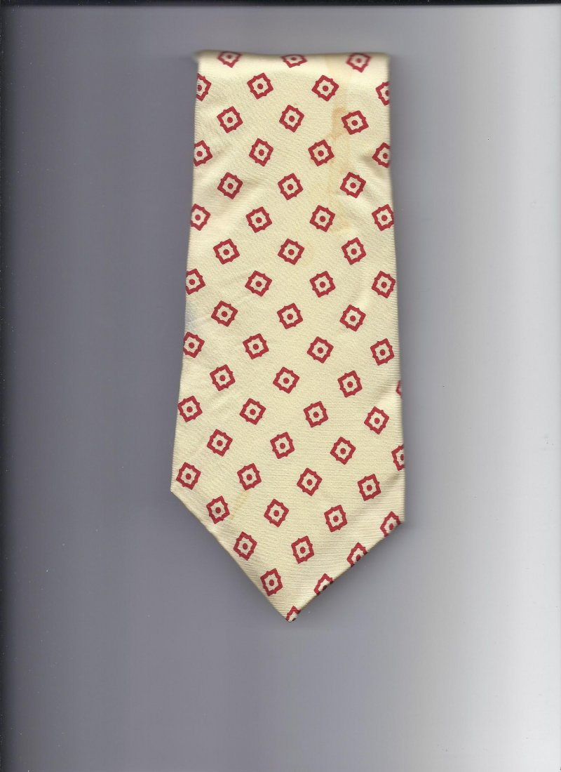 Image 0 of Hardy Amies 100% silk Tie 58