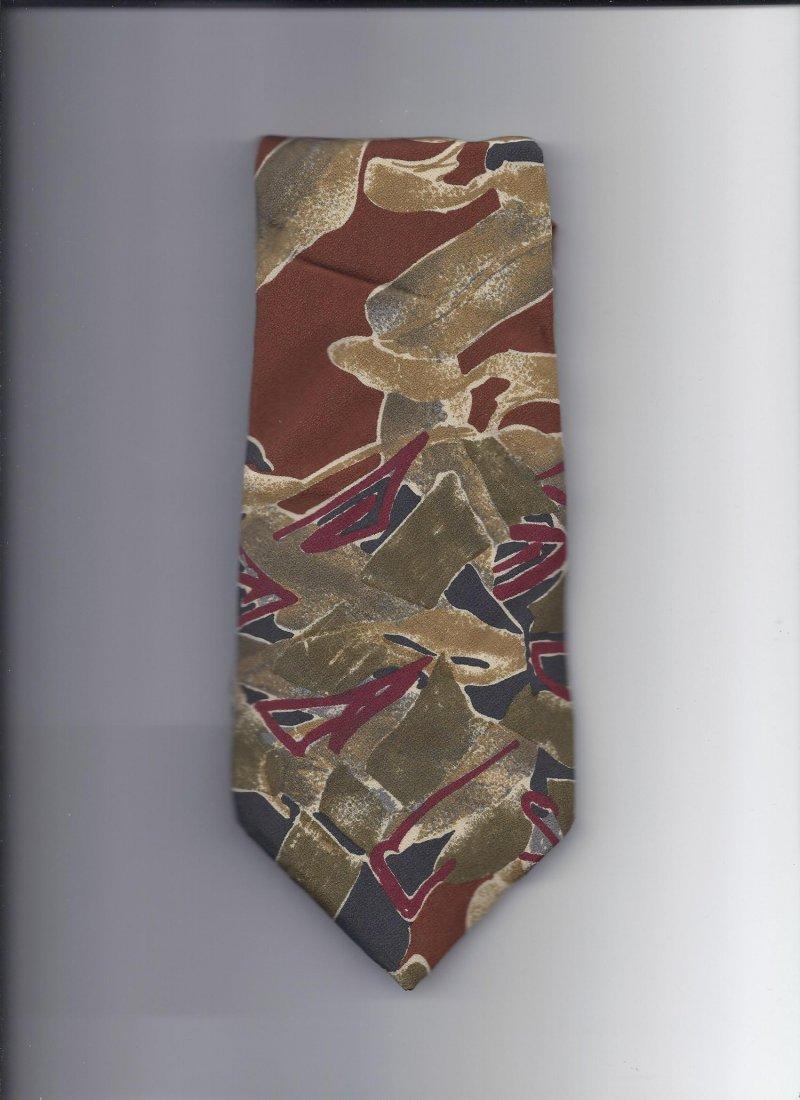 Image 0 of James B. Fairchld 100% silk Tie 58