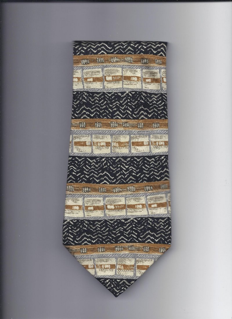 Image 0 of Jonathan wachtel 100% silk Tie 58