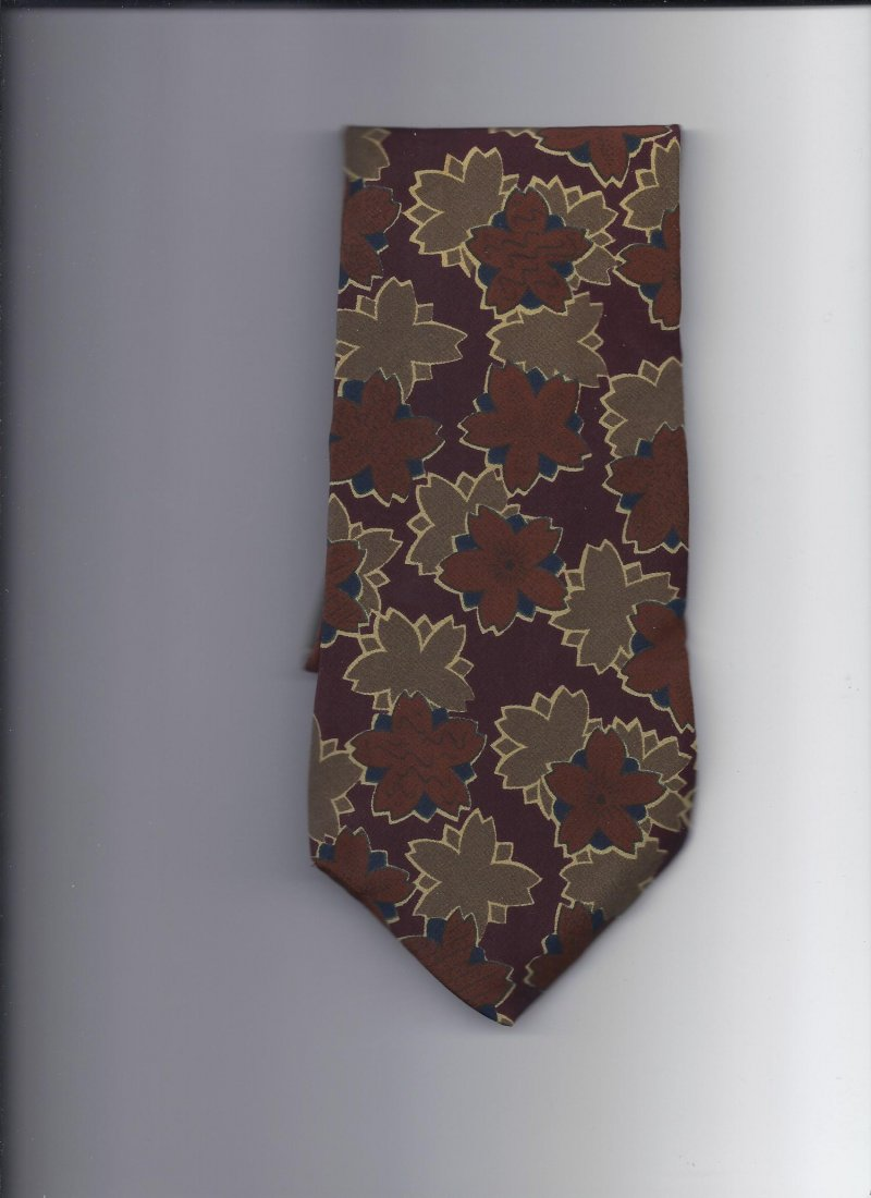 Image 0 of Jones New York 100% silk Tie 58