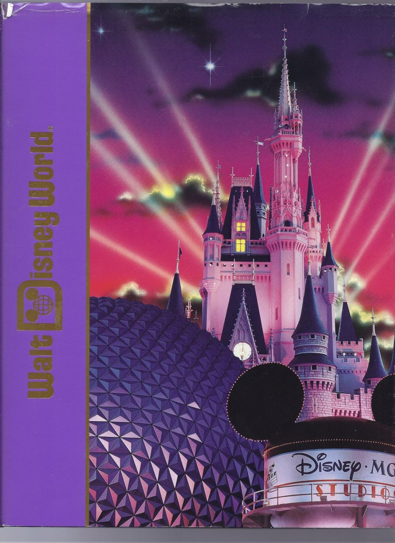 Image 0 of 1994 Walt Disney World Pictorial Sovuiner Hardback book OOP