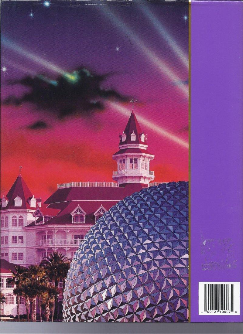Image 1 of 1994 Walt Disney World Pictorial Sovuiner Hardback book OOP