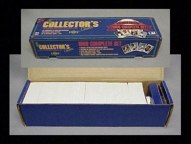 Image 0 of 1989 Upper Deck Baseball Complete Factory Set 1-800