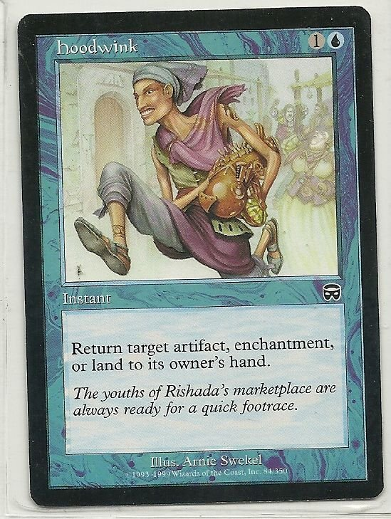 Image 0 of MTG Magic The Gathering Mercadian Masques Hoodwink Card Common
