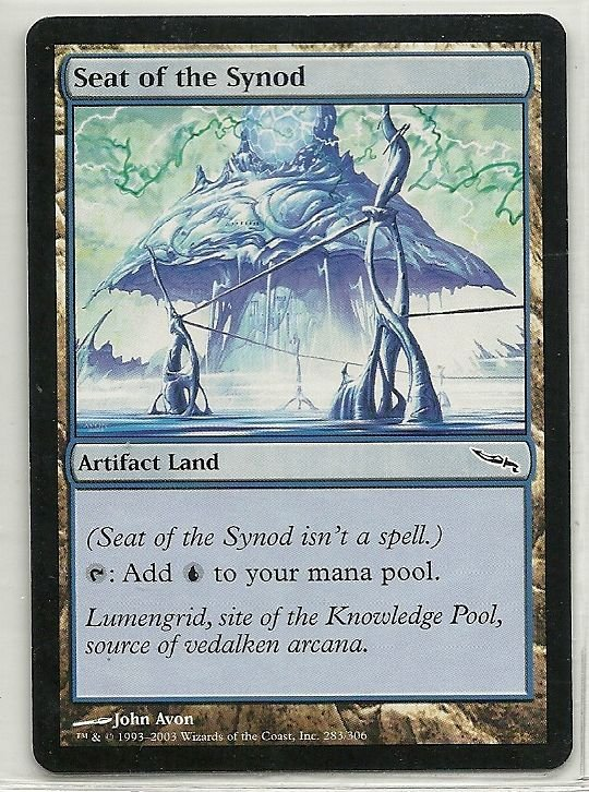 Image 0 of MTG Magic The Gathering Mirrodin Seat of the Synod Card Common