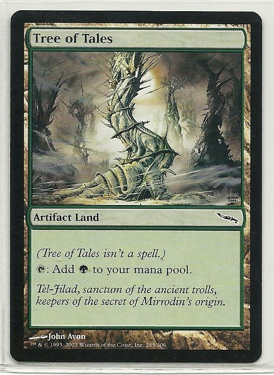 Image 0 of MTG Magic The Gathering Mirrodin Tree of Tales Card Common