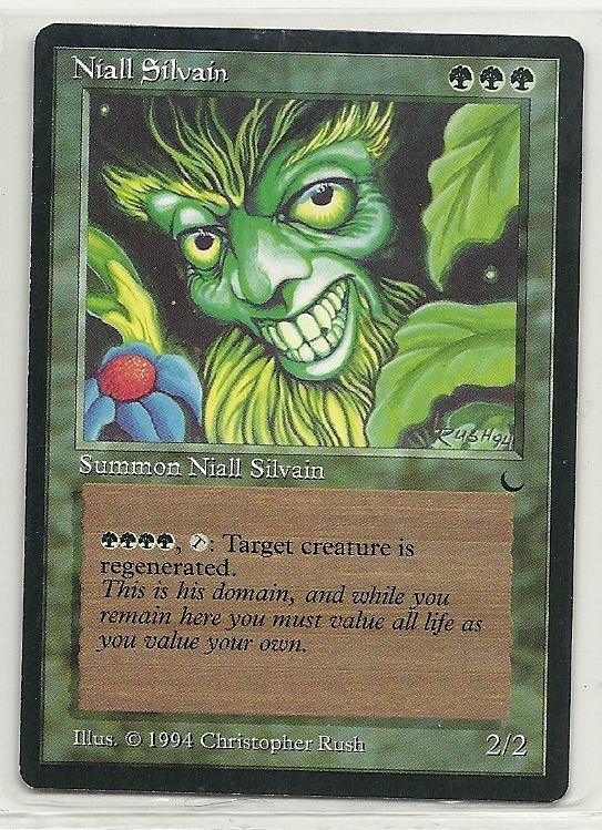 Image 0 of MTG Magic The Gathering The Dark Niall Silvain Card Rare