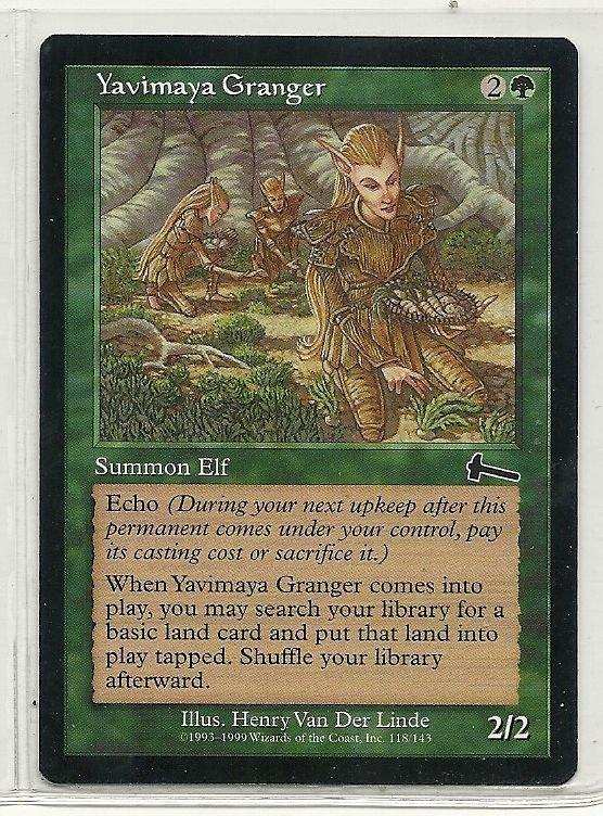 Image 0 of MTG Magic The Gathering Urza's Legacy Yavimaya Granger Card Common