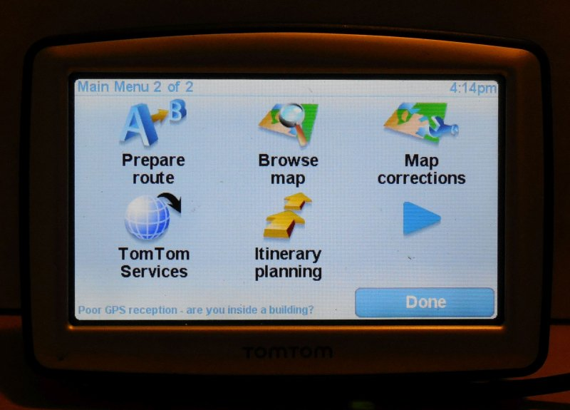 Image 9 of TomTom XL 310 US & Canada  Navigation System N14644