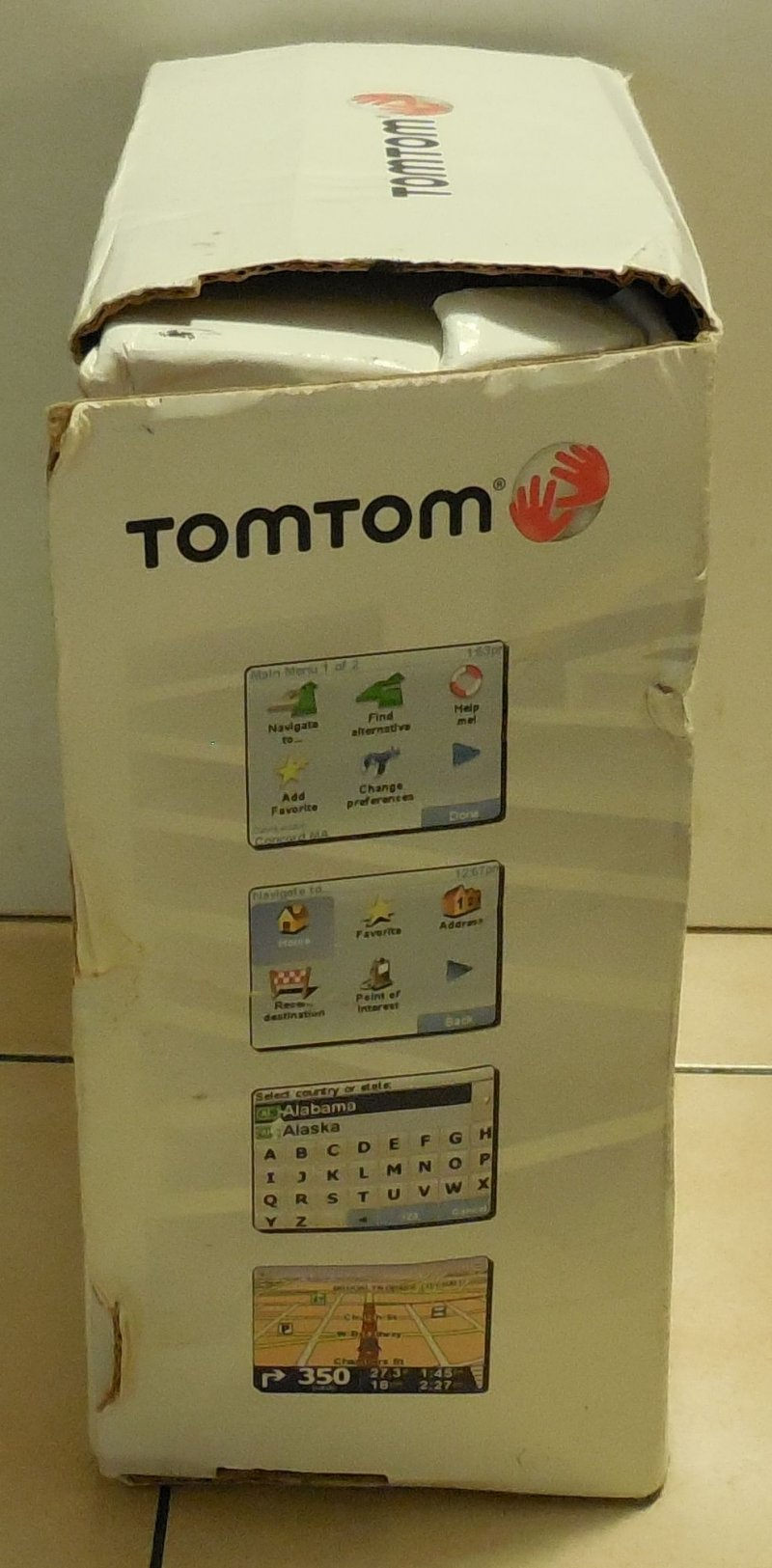 Image 3 of TomTom XL 310 US & Canada  Navigation System N14644