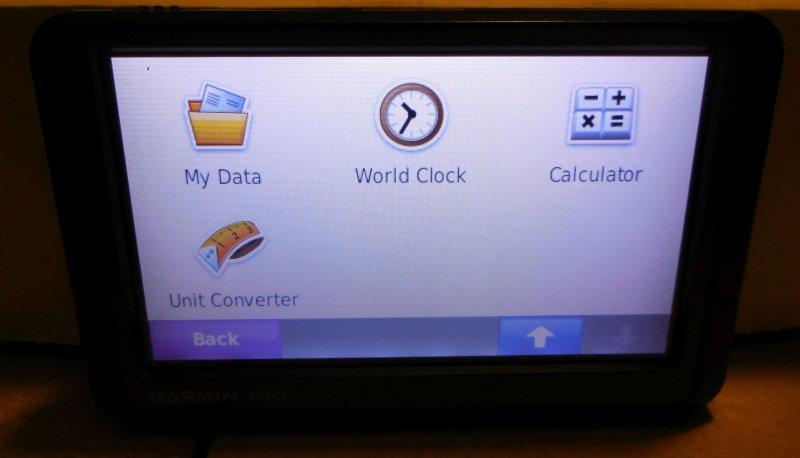 Image 2 of Garmin Nuvi 255W GPS Navigation System (no Charger)