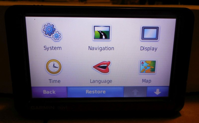 Image 3 of Garmin Nuvi 255W GPS Navigation System (no Charger)