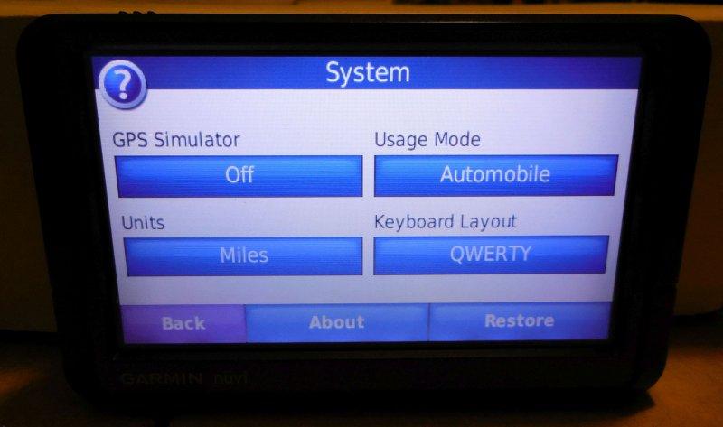 Image 4 of Garmin Nuvi 255W GPS Navigation System (no Charger)