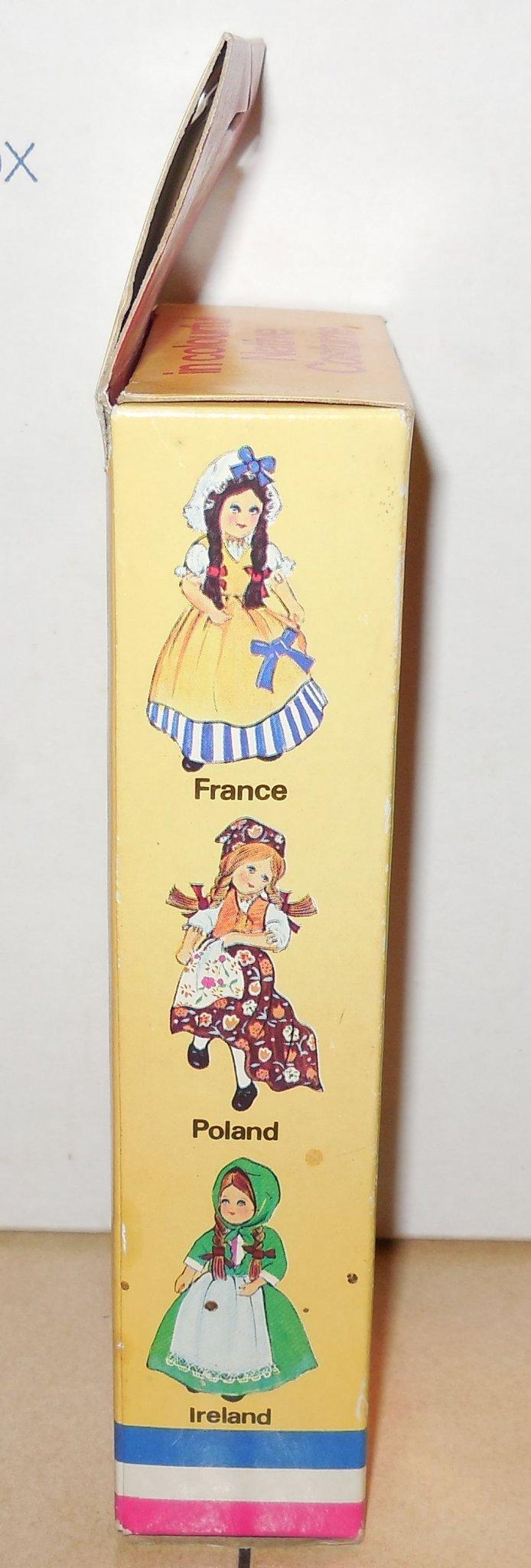 Image 2 of Vintage Nationality Dolls Ireland Doll In Box W Sleepy Eyes Moveable