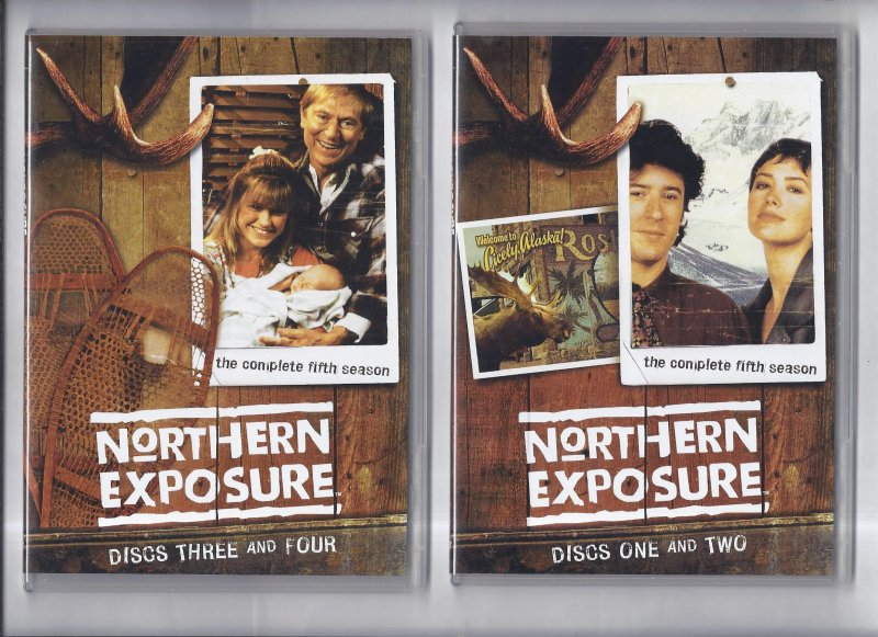 Image 0 of Northern Exposure The Complete Fifth Season DVD 5 Disc Set