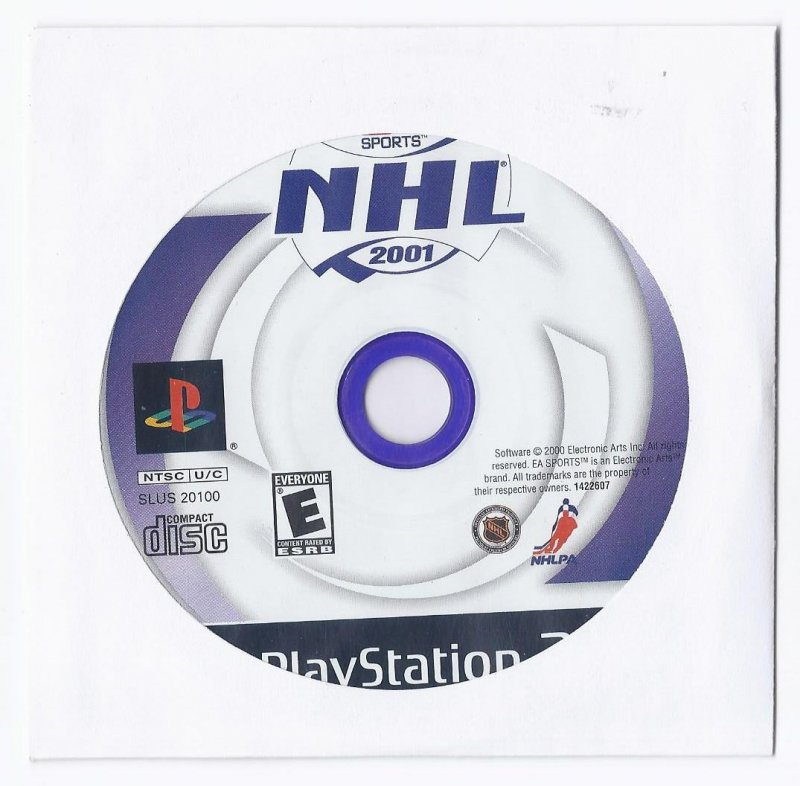 Image 0 of NHL 2001 PS2 Game PlayStation 2