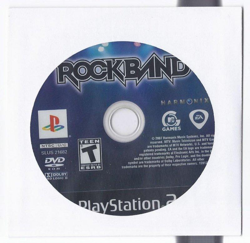Image 0 of Rock band PS2 Game PlayStation 2