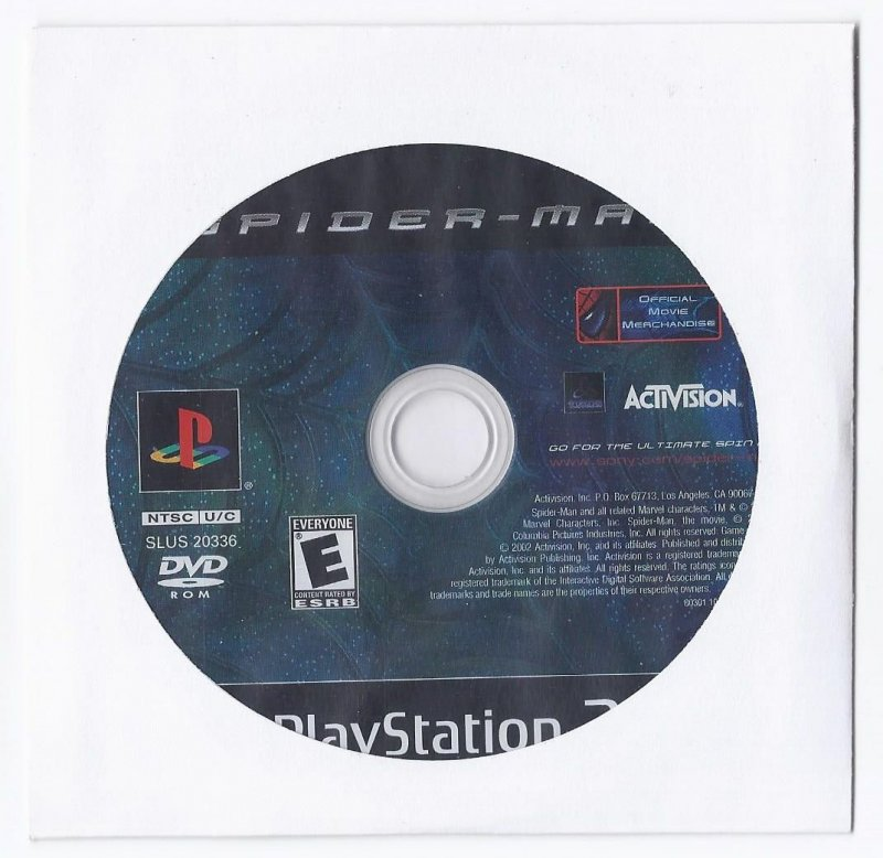 Image 0 of Spider Man PS2 Game PlayStation 2